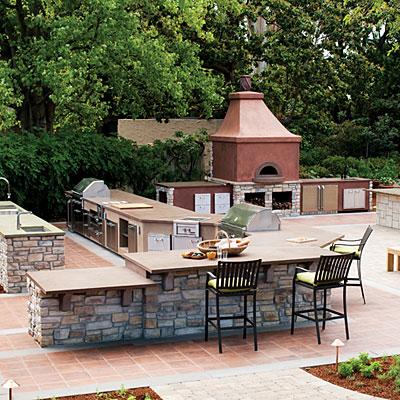 outdoor kitchen tips